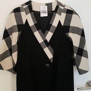 Tibi wool coat